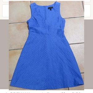 J crew royal blue summer dress 6